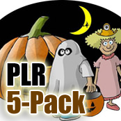 Halloween PLR Childrens 5 Pack
