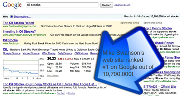 Mike Swanson Uses Bring The Fresh for SEO and High Ranking